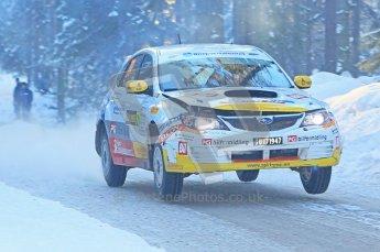 © North One Sport Ltd.2010 / Octane Photographic Ltd.2010. WRC Sweden SS9 Run ii. February 13th 2010. Digital Ref : 0209cb1d2018