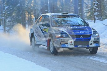 © North One Sport Ltd.2010 / Octane Photographic Ltd.2010. WRC Sweden SS9 Run ii. February 13th 2010. Digital Ref : 0209cb1d2037