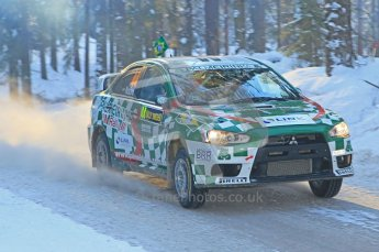 © North One Sport Ltd.2010 / Octane Photographic Ltd.2010. WRC Sweden SS9 Run ii. February 13th 2010. Digital Ref : 0209cb1d2046