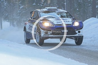 © North One Sport Ltd.2010 / Octane Photographic Ltd.2010. WRC Sweden SS9. February 13th 2010. Digital Ref : 0133CB1D1969