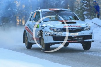 © North One Sport Ltd.2010 / Octane Photographic Ltd.2010. WRC Sweden SS9. February 13th 2010. Digital Ref : 0133CB1D1987