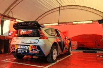 © North One Sport Limited 2010/ Octane Photographic Ltd.2010 WRC Great Britain Shakedown, Wednesday 10th November 2010. Citroen, Kimi Rakkonen/ Kaj Lindstrom, Citroen C4 WRC. Digital Ref : 0035LW1D1832