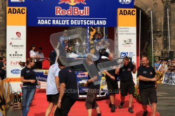 © North One Sport Ltd. 2010 / Octane Photographic Ltd. 2010 WRC Germany Podium, 23st August 2010. Digital Ref: 0212lw7d8464