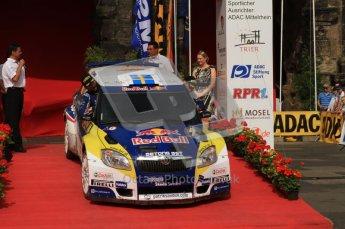 © North One Sport Ltd. 2010 / Octane Photographic Ltd. 2010 WRC Germany Podium, 23st August 2010. Digital Ref: 0212lw7d8474