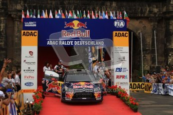 © North One Sport Ltd. 2010 / Octane Photographic Ltd. 2010 WRC Germany Podium, 23st August 2010. Digital Ref: 0212lw7d8768