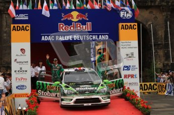 © North One Sport Ltd. 2010 / Octane Photographic Ltd. 2010 WRC Germany Podium, 23st August 2010. Digital Ref: 0212lw7d8819