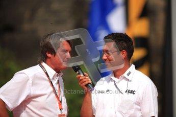 © North One Sport Ltd. 2010 / Octane Photographic Ltd. 2010 WRC Germany Podium, 23st August 2010. Digital Ref: 0212lw7d9019