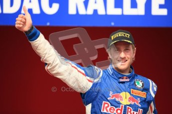 © North One Sport Ltd. 2010 / Octane Photographic Ltd. 2010 WRC Germany Podium, 23st August 2010. Digital Ref: 0212lw7d9093