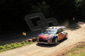 © North One Sport Ltd.2010 / Octane Photographic Ltd. 2010 WRC Germany SS13 Freisen Westrich II, 21st August 2010. Digital Ref : 0161lw7d6506