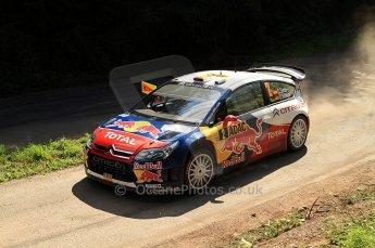 © North One Sport Ltd.2010 / Octane Photographic Ltd. 2010 WRC Germany SS13 Freisen Westrich II, 21st August 2010. Digital Ref : 0161lw7d6508