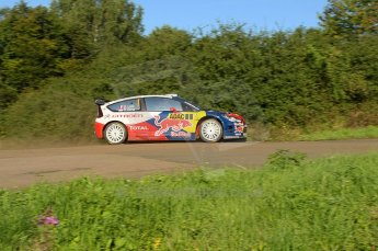 © North One Sport Limited 2010/Octane Photographic Ltd. 2010 WRC Germany SS9 Freisen Westrich I, Sebastien Loeb/Daniel Elena, Citroen C4 WRC. 21st August 2010. Digital Ref : 0160cb1d5473