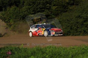 © North One Sport Limited 2010/Octane Photographic Ltd.  2010 WRC Germany SS9 Freisen Westrich I, Sebastien Loeb/Daniel Elena, Citroen C4 WRC.. 21st August 2010. Digital Ref : 0160LW7D5361