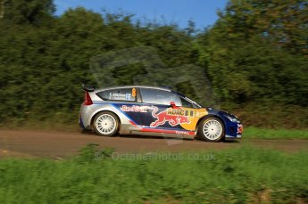 © North One Sport Limited 2010/Octane Photographic Ltd. 2010 WRC Germany SS9 Freisen Westrich I, Kimi Raikkonen/Kaj Lindstrom, Citroen C4 WRC. 21st August 2010. Digital Ref : 0160LW7D5445