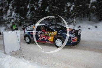 © North One Sport Ltd.2010 / Octane Photographic Ltd.2010. WRC Sweden shakedown stage. February 11th 2010, Kimi Raikkonen/Kaj Lindstrom, Citroen C4 WRC. Digital Ref : 0129CB1D1185