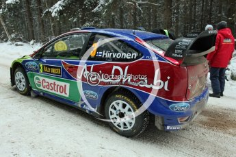 © North One Sport Ltd.2010 / Octane Photographic Ltd.2010. WRC Sweden shakedown stage. February 11th 2010. Digital Ref : 0129CB1D1217
