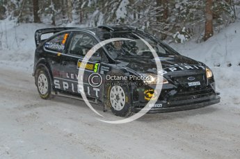 © North One Sport Ltd.2010 / Octane Photographic Ltd.2010. WRC Sweden shakedown stage. February 11th 2010. Digital Ref : 0129CB1D1192