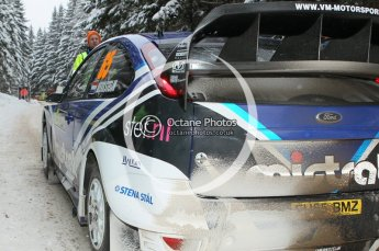 © North One Sport Ltd.2010 / Octane Photographic Ltd.2010. WRC Sweden shakedown stage. February 11th 2010. Digital Ref : 0129CB1D1232