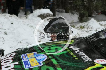 © North One Sport Ltd.2010 / Octane Photographic Ltd.2010. WRC Sweden shakedown stage. February 11th 2010. Digital Ref : 0129CB1D1267