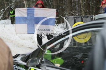 © North One Sport Ltd.2010 / Octane Photographic Ltd.2010. WRC Sweden shakedown stage. February 11th 2010. Digital Ref : 0129CB1D1286
