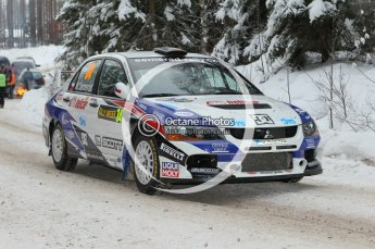 © North One Sport Ltd.2010 / Octane Photographic Ltd.2010. WRC Sweden shakedown stage. February 11th 2010. Digital Ref : 0129CB1D1307