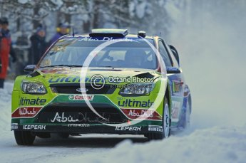 © North One Sport Ltd.2010 / Octane Photographic Ltd.2010. WRC Sweden SS3. February 12th 2010. Digital Ref : 0130CB1D1682
