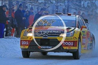 © North One Sport Ltd.2010 / Octane Photographic Ltd.2010. WRC Sweden SS3. February 12th 2010. Digital Ref : 0130CB1D1686