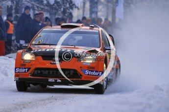 © North One Sport Ltd.2010 / Octane Photographic Ltd.2010. WRC Sweden SS3. February 12th 2010. Digital Ref : 0130CB1D1693