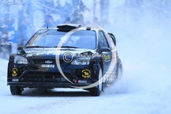 © North One Sport Ltd.2010 / Octane Photographic Ltd.2010. WRC Sweden SS3. February 12th 2010. Digital Ref : 0130CB1D1725