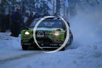 © North One Sport Ltd.2010 / Octane Photographic Ltd.2010. WRC Sweden SS3. February 12th 2010. Digital Ref : 0130CB1D1733