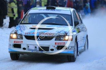 © North One Sport Ltd.2010 / Octane Photographic Ltd.2010. WRC Sweden SS3. February 12th 2010. Digital Ref : 0130CB1D1798