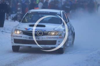 © North One Sport Ltd.2010 / Octane Photographic Ltd.2010. WRC Sweden SS3. February 12th 2010. Digital Ref : 0130CB1D1806