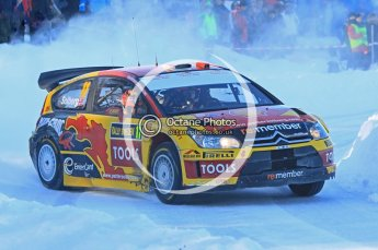 © North One Sport Ltd.2010 / Octane Photographic Ltd.2010. WRC Sweden SS12. February 13th 2010. Digital Ref : 0134CB1D2140