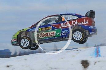 © North One Sport Ltd.2010 / Octane Photographic Ltd.2010. WRC Sweden SS18 February 14th 2010. Digital Ref : 0136CB1D2290