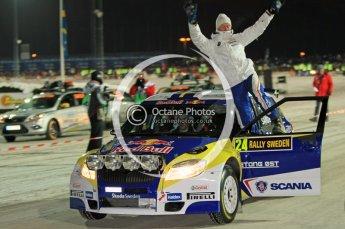 © North One Sport Ltd.2010 / Octane Photographic Ltd.2010. WRC Sweden SS1 Karlstad Stadium. February 11th 2010. Digital Ref : 0131CB1D1383