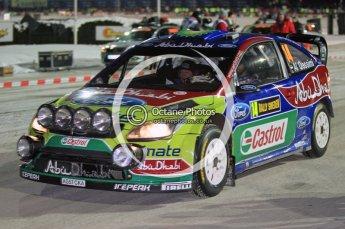 © North One Sport Ltd.2010 / Octane Photographic Ltd.2010. WRC Sweden SS1 Karlstad Stadium. February 11th 2010. Digital Ref : 0131CB1D1389