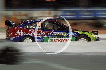 © North One Sport Ltd.2010 / Octane Photographic Ltd.2010. WRC Sweden SS1 Karlstad Stadium. February 11th 2010. Digital Ref : 0131CB1D1489