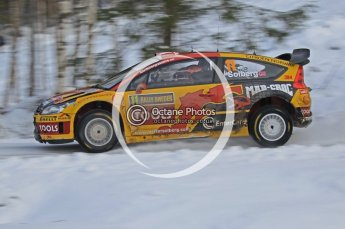 © North One Sport Ltd.2010 / Octane Photographic Ltd.2010. WRC Sweden SS21 February 14th 2010. Digital Ref : 0137CB1D2827