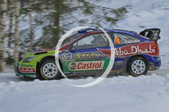 © North One Sport Ltd.2010 / Octane Photographic Ltd.2010. WRC Sweden SS21 February 14th 2010. Digital Ref : 0137CB1D2933