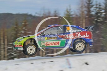 © North One Sport Ltd.2010 / Octane Photographic Ltd.2010. WRC Sweden SS21 February 14th 2010. Digital Ref : 0137CB1D2978