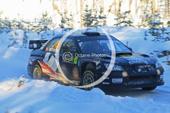 © North One Sport Ltd.2010 / Octane Photographic Ltd.2010. WRC Sweden SS5. February 12th 2010. Digital Ref : 0132CB1D1876