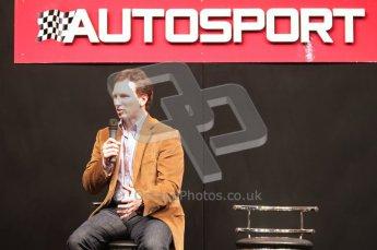 © Octane Photographic Ltd. Autosport International 2011, January 14th 2011. Red Bull's Christian Horner. Digital ref : 0045CB1D5203