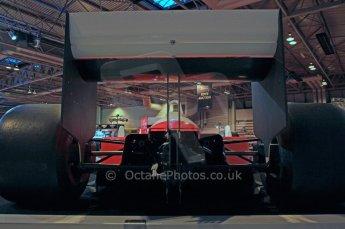 © Octane Photographic Ltd. Autosport International 2011, January 15th 2011. McLaren Display. McLaren MP4/4 Ayrton Senna, Historic F1. Digital ref : 0045CB1D5203