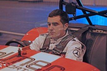 World © Octane Photographic Ltd. McLaren Autosport BRDC Young Drivers. January 14th 2011. Scott Malvern in Caterham 7 demonstration car. Digital Ref : 0871cb1d0002