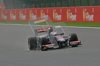 © Octane Photographic Ltd. 2011. Belgian Formula 1 GP, Practice session - Friday 26th August 2011. Digital Ref : 0170CB7D2444