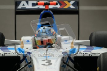© Octane Photographic Ltd. 2011. Belgian Formula 1 GP, GP2 Race 2 - Sunday 28th August 2011. Team Addax driver, Charles Pic steering to the left coming out of the pits. Digital Ref : 0205cb1d0042