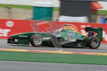 World © Octane Photographic Ltd. 2011. Belgian GP, GP3 Practice session - Saturday 27th August 2011. Valtteri Bottas of Lotus ART. Digital Ref : 0204lw7d3740