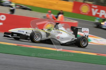 World © Octane Photographic Ltd. 2011. Belgian GP GP3 Practice session - Saturday 27th August 2011. Nick Yelloly of Atech CRS GP. Digital Ref : 0204lw7d3763