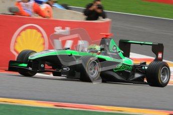 World © Octane Photographic Ltd. 2011. Belgian GP, GP3 Practice session - Saturday 27th August 2011. Alexander Sims of Status Grand Prix. Digital Ref : 0204lw7d3776