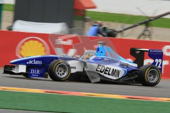 World © Octane Photographic Ltd. 2011. Belgian GP, GP3 Practice session - Saturday 27th August 2011.  Zoel Amberg of Atech CRS GP. Digital Ref : 0204lw7d3869