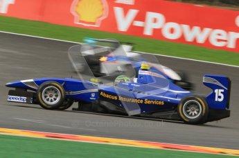 World © Octane Photographic Ltd. 2011. Belgian GP, GP3 Practice session - Saturday 27th August 2011.  Callum MacLeod of Carlin. Digital Ref : 0204lw7d4017